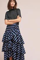 Maeve Iris Striped Skirt