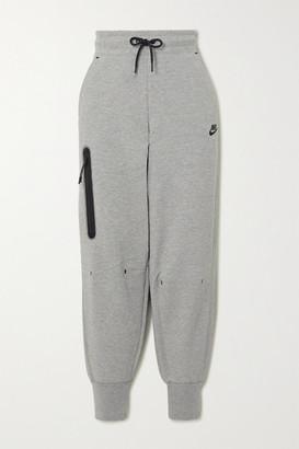 Nike Cotton-blend Track Pants - Gray