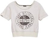 True Religion Stamp Tee (Little Girls)