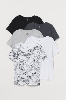 H&M 5-pack T-shirts - Black