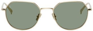 Raen Gold Byres Sunglasses