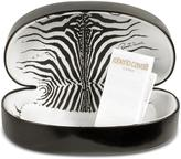 Roberto Cavalli Oroya - Scrolled Metal Signature Round Frame Sunglasses