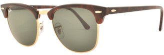 Ray-Ban Clubmaster Sunglasses Brown