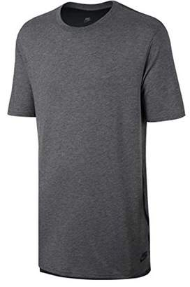 Nike Men's M NSW TB DRPTL BND T-Shirt, Grey (Carbon Heather/Anthracite/Black), L
