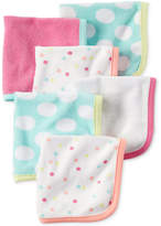 Carter's 6-Pk. Dots Washcloths, Baby Girls (0-24 months)