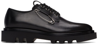 Givenchy Black Combat Safety Pin Derbys