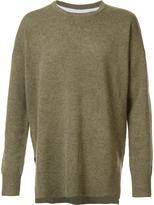 Zanerobe Project A x 'K1' knit sweatshirt