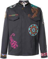 Etro embellished cargo jacket