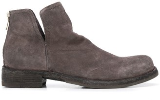 Officine Creative Cut-Out Ankle Boots