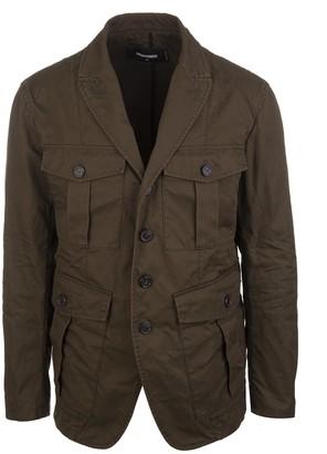 DSQUARED2 Cotton Twill Blazer