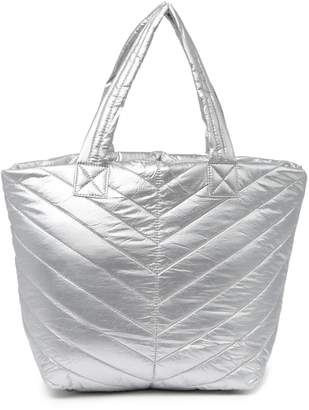 Urban Expressions Quilted Puffer Tote Bag