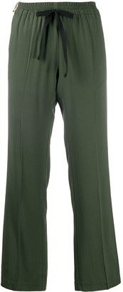 Zadig & Voltaire Poeme stripe detail trousers