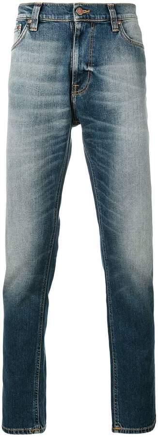 Nudie Jeans light-wash slim-fit jeans