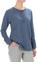 FDJ French Dressing Drawstring Neck Sweatshirt (For Women)
