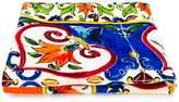 Dolce & Gabbana floral tile print towel