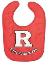 Bed Bath & Beyond Little Rutgers Fan All-Pro Style Bib in Red/White