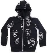 Nununu Infant Skull Mask Hoodie