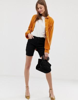 Vero Moda longline shorts-Black