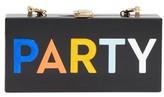 Milly Party Box Clutch - Black