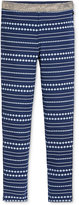 Tommy Hilfiger Striped-Dot Ponte Pants, Big Girls (7-16)