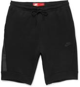Nike Cotton-blend Tech Fleece Shorts