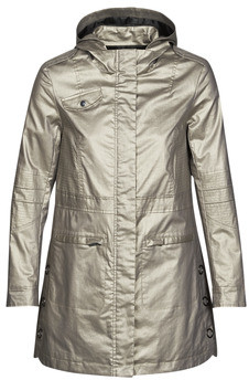 One Step DIEGO women's Parka in Silver