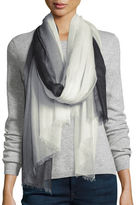 Sofia Cashmere Featherweight Cashmere Dip-Dye Shawl