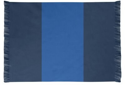 East Urban Home Nhs National Hockey Stripes Royal Blue Area Rug Rug Size Rectangle 4 X 6 Non Skid Pad Yes Shopstyle
