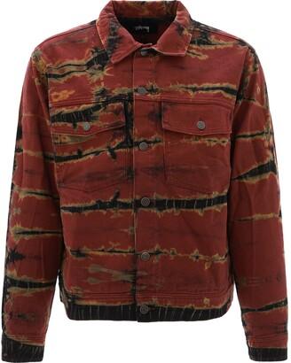 Stussy Rip Dye Ranch Denim Jacket