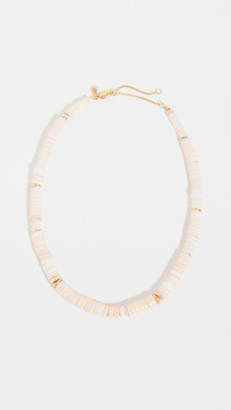 Madewell Conch Shell Beaded Necklace