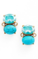 Kate Spade Women's Shine On Crystal Stud Earrings