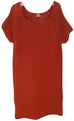 Hermes Orange Cashmere Dresses