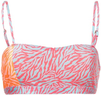 SUBOO Sienna printed bikini top