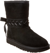 UGG Women's Classic Lace Short Suede Boot