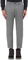 Moncler Gamme Bleu Men's Grisalia Cotton Cuffed Trousers-GREY