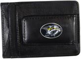 Kohl's Nashville Predators Black Leather Cash & Card Holder