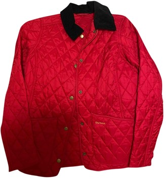 Barbour Red Polyester Jackets