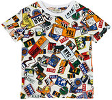 Kenzo Badge-Print Crewneck T-Shirt