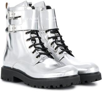 Balmain Kids Lace-Up Boots