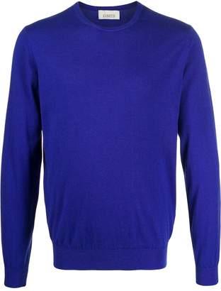 Laneus fine knit crew neck sweater