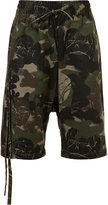 Haculla - camouflage print bermuda shorts - men - Cotton - XS