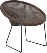 Janus et Cie Lazy Gigi II Outdoor Accent Chair, Mocha