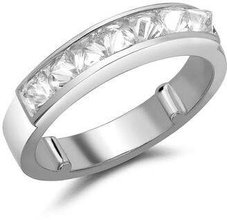 Pragnell 18kt white gold RockChic domed diamond ring