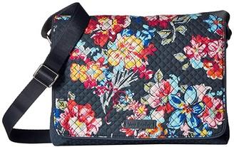 Vera Bradley Turnabout Crossbody (Pretty Posies) Cross Body Handbags