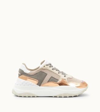 Tod's Sneakers in High Tech Fabric and Leather