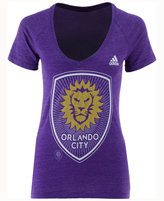 adidas Women's Orlando City SC Pearlized Pattern T-Shirt