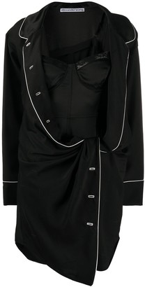 Alexander Wang Asymmetric Pyjama Dress