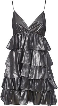 Aniye By Ruffled V-neck Dress