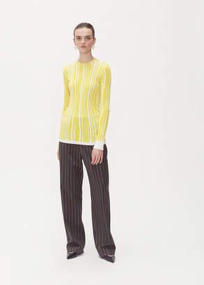 Calvin Klein Long Sleeve Rib Knit