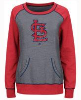 Majestic Women's St. Louis Cardinals Everything & More Sweatshirt
